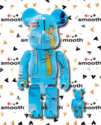 Medicom Toy Jean-Michel Basquiat #4 Bearbrick Set 100% 400% Limited Edition