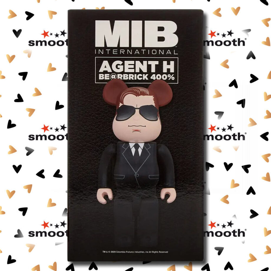 Medicom Toy Men In Black Agent H Bearbrick 400% 2020 limited edition