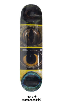 National Geographic x Element Eye Quad Skateboard Deck S4DCB4ELP0 8.0""