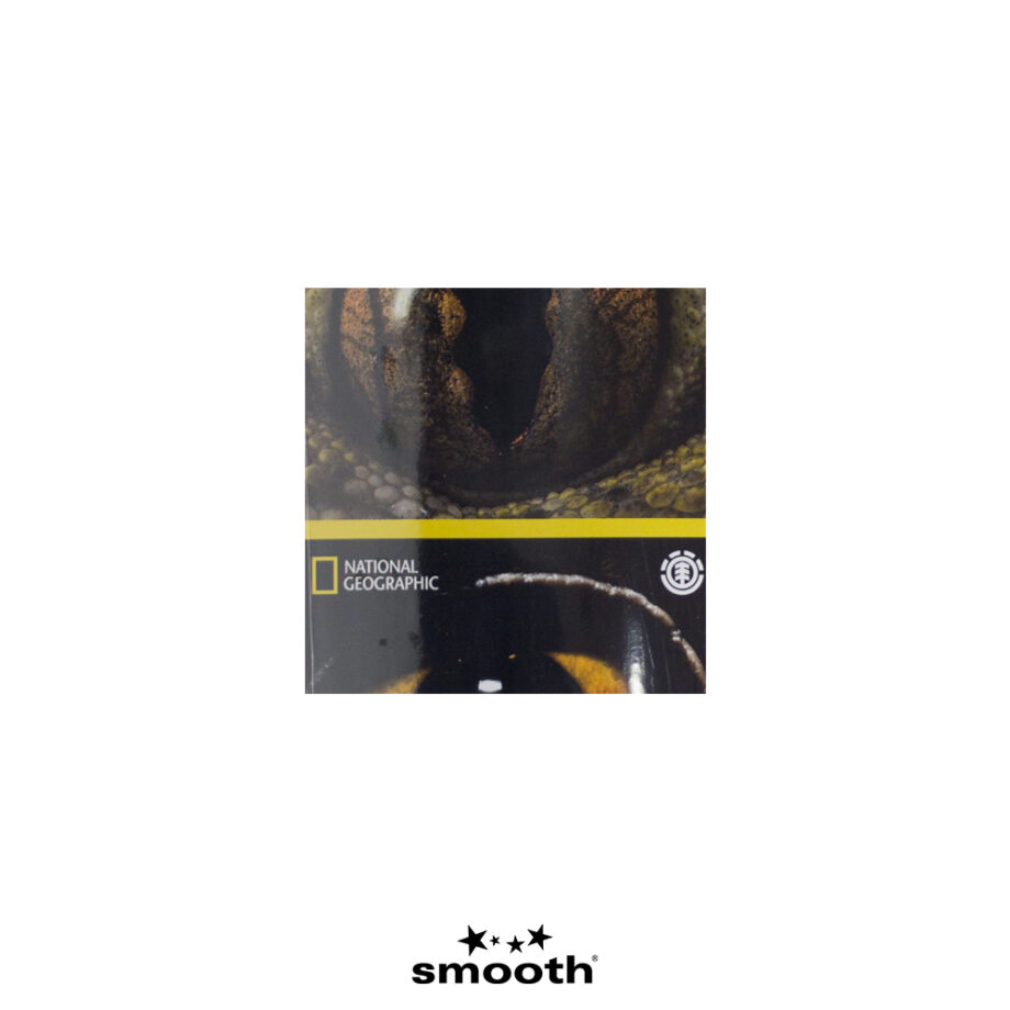 "National Geographic x Element Eye Quad Skateboard Deck S4DCB4ELP0 8.0"""