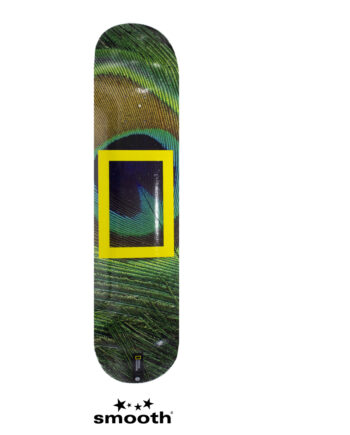 National Geographic x Element Peacock Skateboard Deck S4DCB5ELP0 8.0""