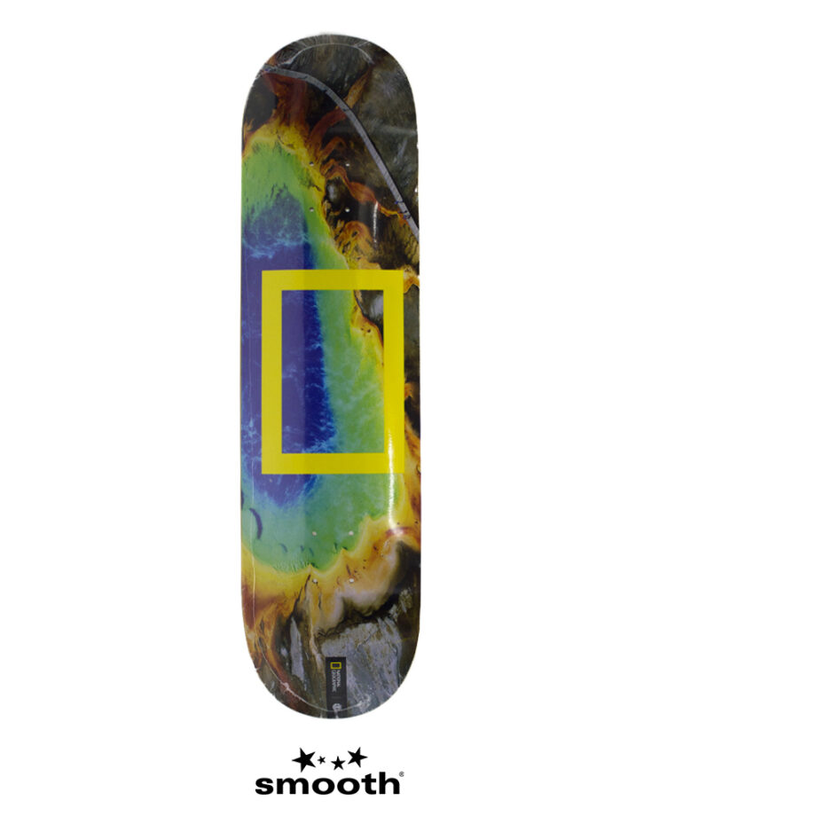 National Geographic x Element Prisma Skateboard Deck S4DC87 8.25""