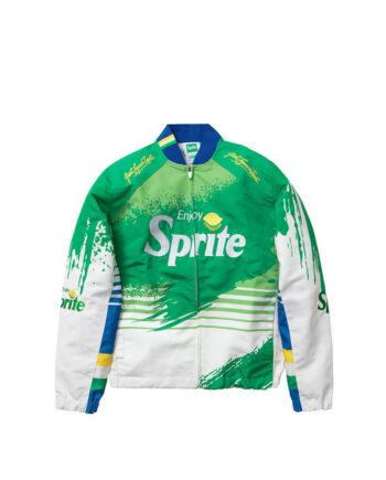 Staple Pigeon Sprite Racing Jacket Lime 2001O5835