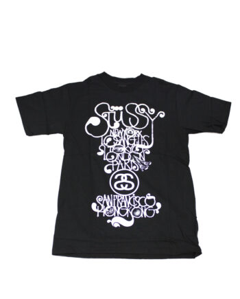 Stussy Black Tee World Tour 2006 Brent Rollins S6SC1901241 Limited Edition
