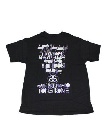 Stussy Black Tee World Tour 2006 Cody Hudson S6SC1901237 Limited Edition