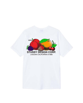 Stussy Fresh Fruit Tee White 1904542