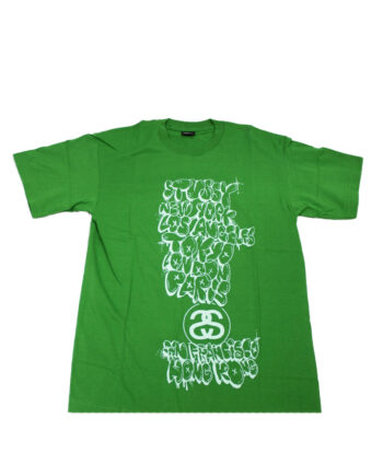 Stussy Green Tee World Tour 2006 Kevin Lyons Limited Edition
