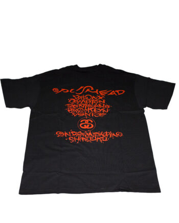 Stussy Red Tee World Tour 2006 Pushead Limited Edition