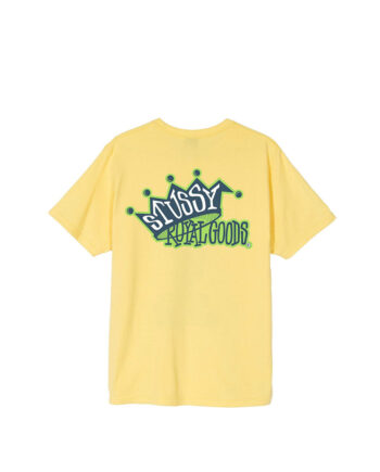 Stussy Royal Goods Tee Yellow 1904545