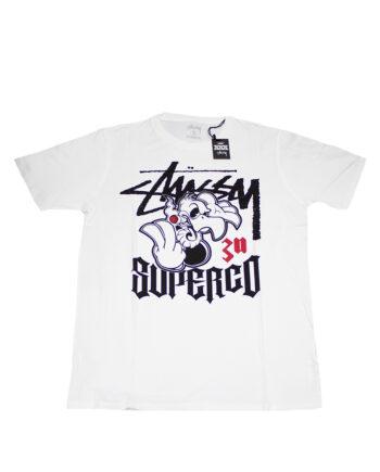 Stussy Sc Super Co. White Tee XXX Anniversary EESC0900015