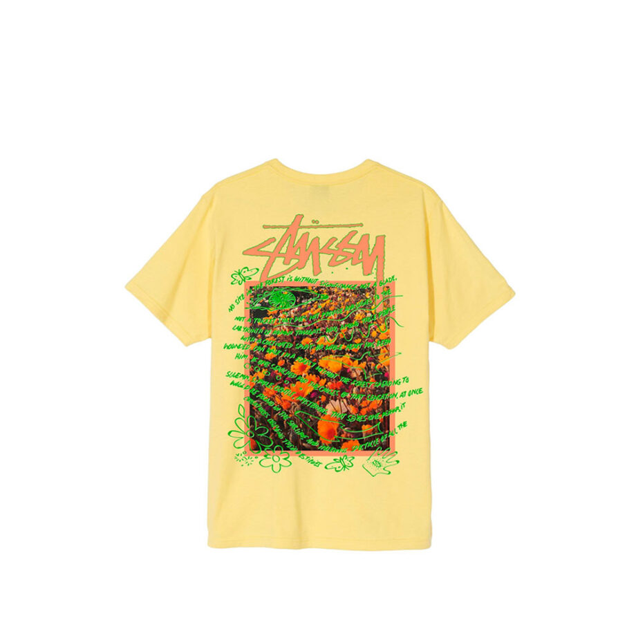 Stussy Super Bloom Tee Yellow 1904550