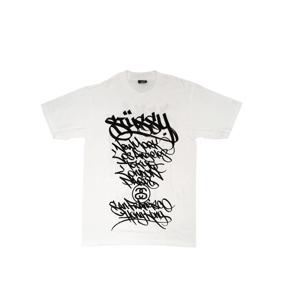Stussy White Tee World Tour 2006 Ease Limited Edition