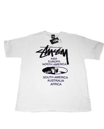 Stussy × Dmc White Tee Japan Dj Championship 2013