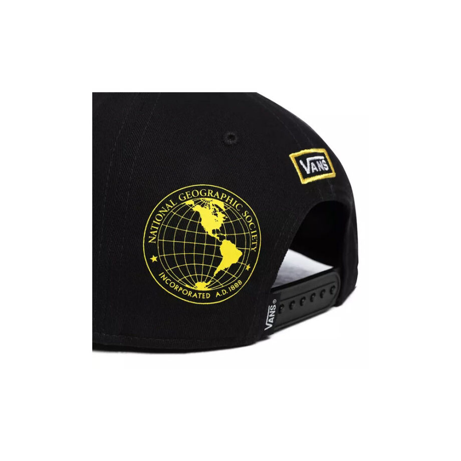 Vans x National Geographic Cap Snapback Black VN0A4MP6BLK