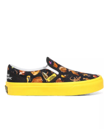 Vans x National Geographic Classic Slip On - Kids VN0A4BUTWK6