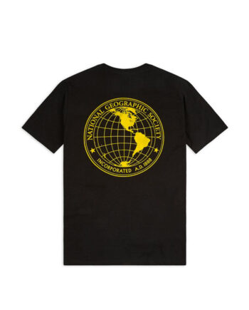 Vans x National Geographic Gobe T-Shirt Black VN0A4MSHBLK