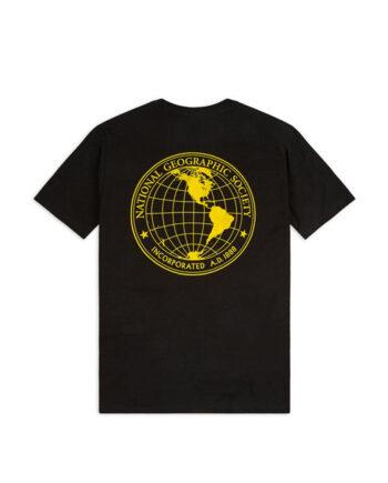 Vans x National Geographic Gobe T-Shirt Black VN0A4MSHBLK