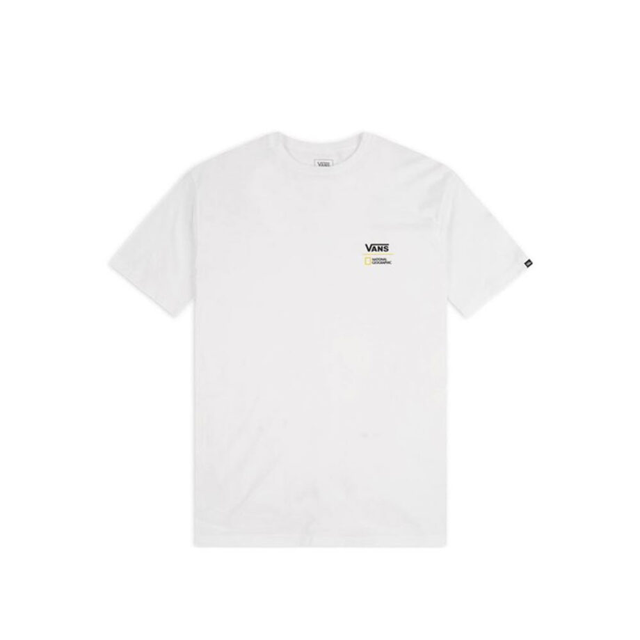 Vans x National Geographic Gobe T-Shirt White VN0A4MSHWHT