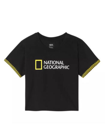 Vans x National Geographic Roll Out T-Shirt Black VN0A4RGPBLK