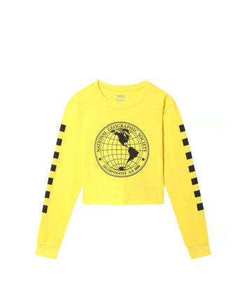 Vans x National Geographic Short T-Shirt Cyber Yellow VN0A4RGESEJ