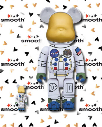 Medicom Toy 1969 Nasa Apollo 11 Astronaut Bearbrick Set 100% 400% Limited Edition