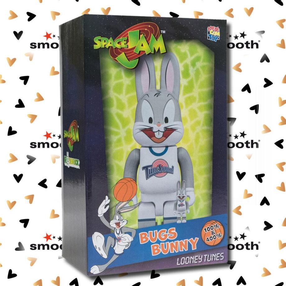 Medicom Toy Bugs Bunny Rabbrick Space Jam Bearbrick Set 100% 400% limited edition 2018
