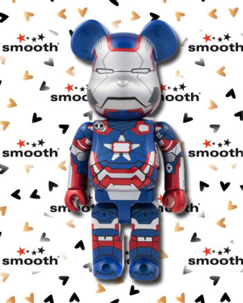 Medicom Toy Iron Man 3 Iron Patriot Bearbrick 400% 2013 Limited Edition