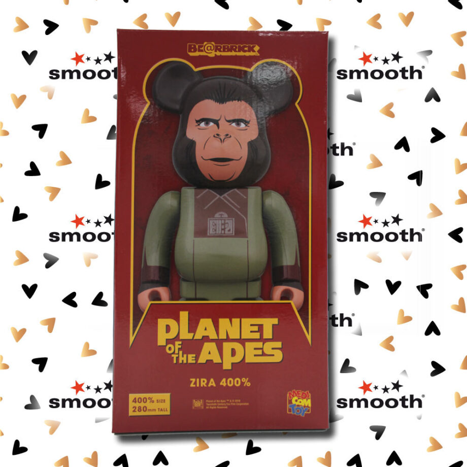 Medicom Toy Planet Of The Apes Soldier Ape Bearbrick 400%