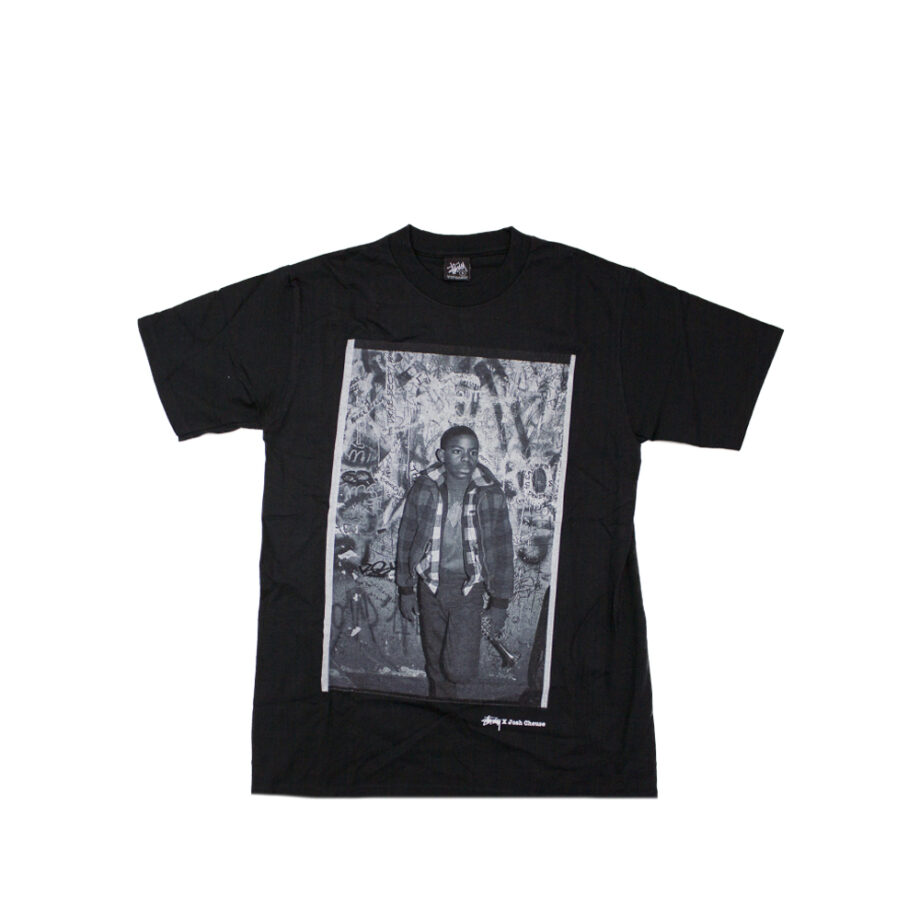 Stussy Black SC SS Josh Cheuse Nhill 84 Junk Tee Limited Edition SBSC1901516