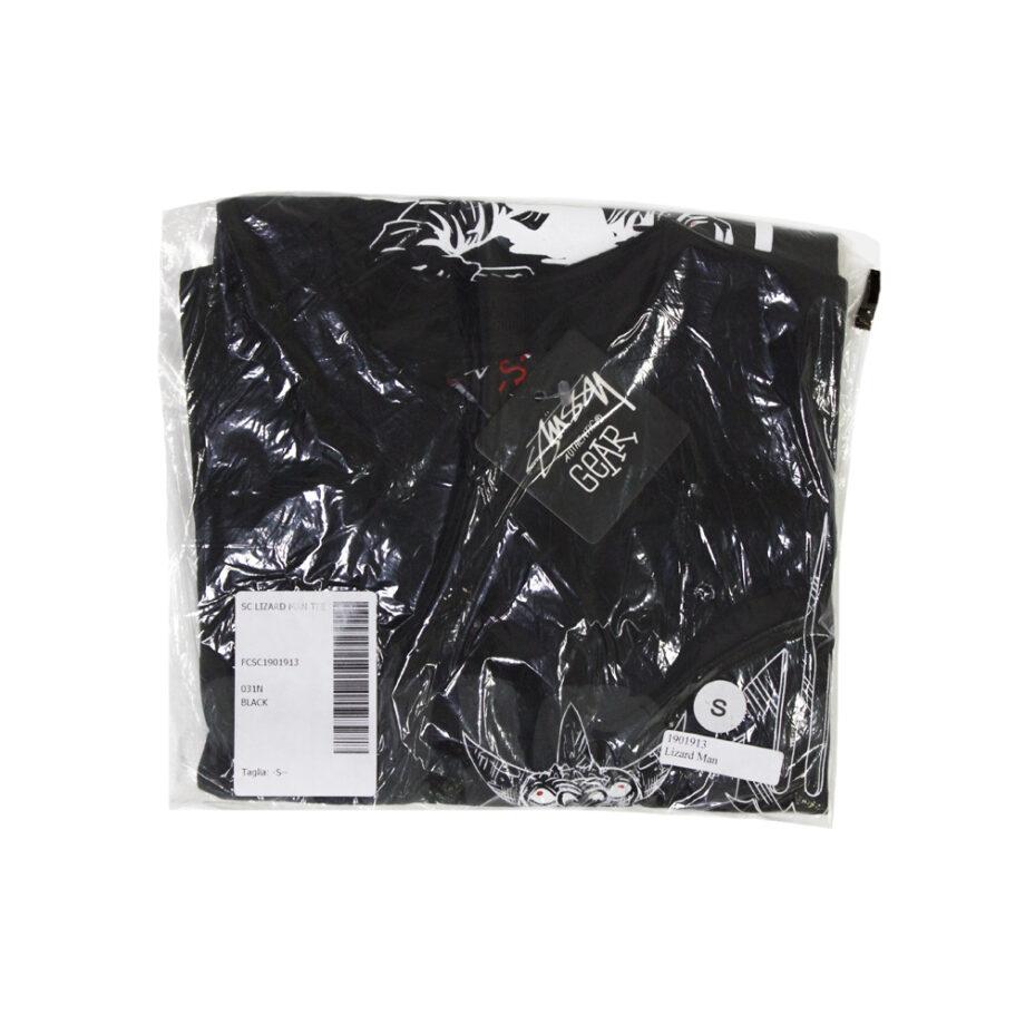 Stussy Customade Lizard Man Black Tee Limited Edition FCSC1901913