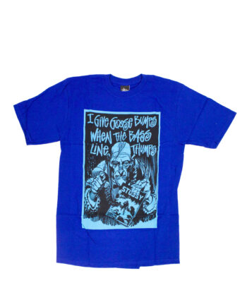 Stussy Customade x Creepy Give Bumbs Blue Tee Limited Edition FFSC3902218