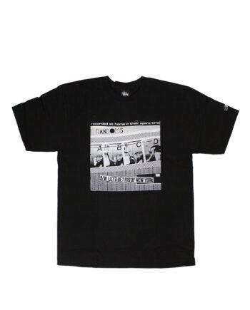 Stussy Customade x Domino Records SS The Randoms Black Tee Limited Edition SFSC390213B