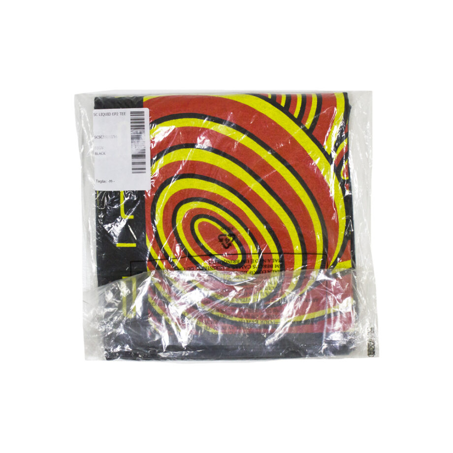 Stussy Customade x Liquid Liquid Ep2 Black Tee Limited Edition SCSC1901854