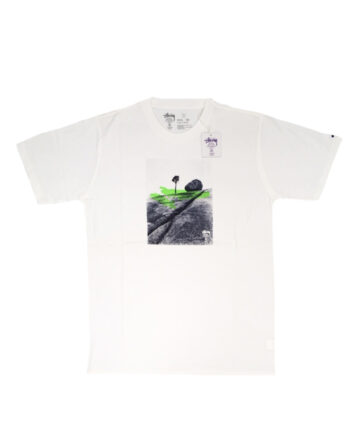 Stussy Deluxe White SX Boulder & Tree Tee Limited Edition 4014014