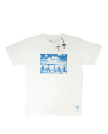 Stussy Deluxe White Tee Limited Edition