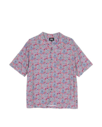 Stussy Floral Print Shirt Red 1110109
