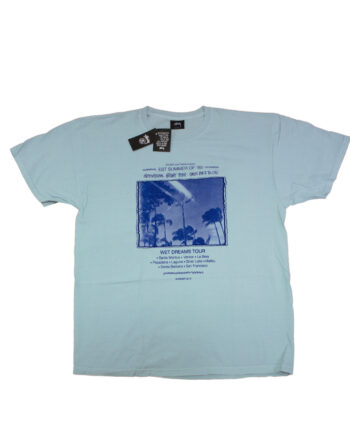 Stussy Light Blue SC Event Tour Tee Limited Edition SMSC3903036