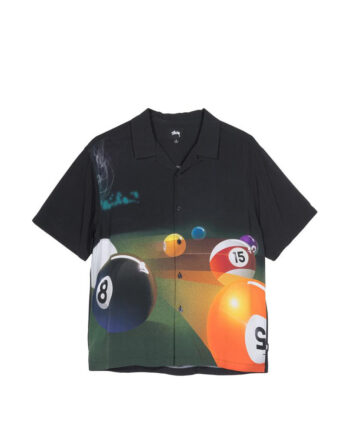 Stussy Pool Hall Shirt Black 1110119