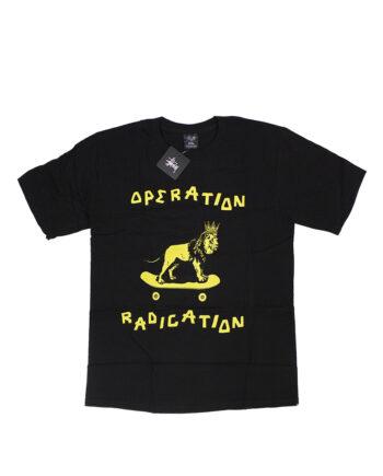 Stussy Black Alakazam Skate Lion Tee Operation Radication Limited Edition 3902286