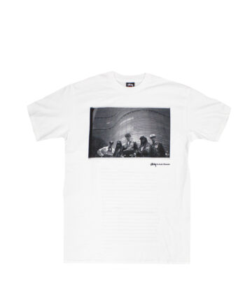 Stussy White SC SS Josh Cheuse Bad Tee Limited Edition SBSC1901534