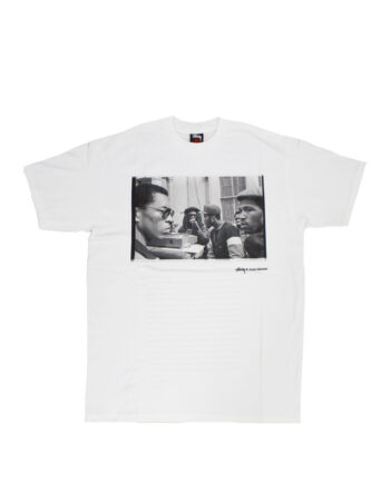 Stussy White SC SS Josh Cheuse Nhill 84 Bros Tee Limited Edition SBSC1901514