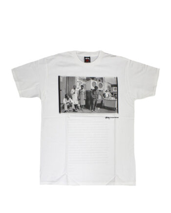 Stussy White SC SS Josh Cheuse Nhill 84 Crew Tee Limited Edition SBSC1901515