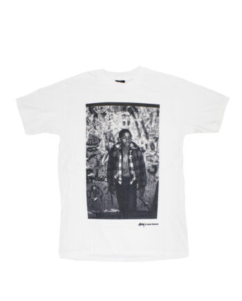 Stussy White SC SS Josh Cheuse Nhill 84 Junk Tee Limited Edition SBSC1901516