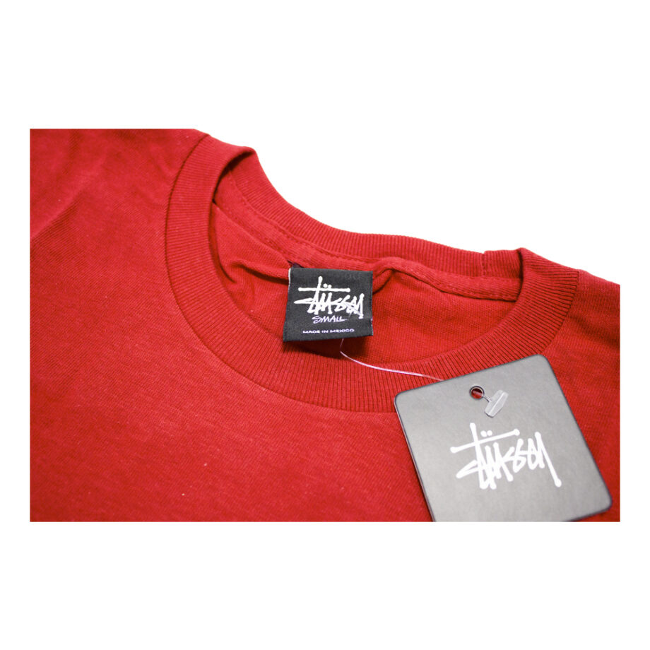Stussy x Delicious Vinyl Bust A Move Red Tee Limited Edition 3902374