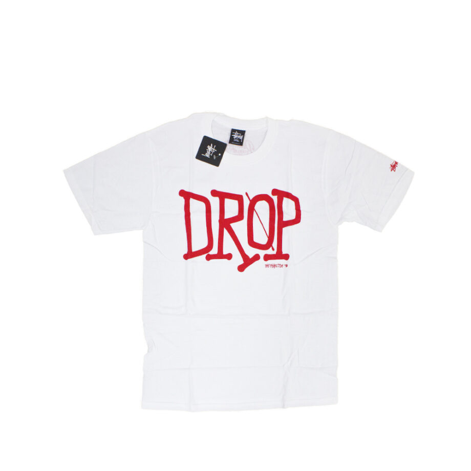 Stussy x Delicious Vinyl Drop White Tee Limited Edition 3902372