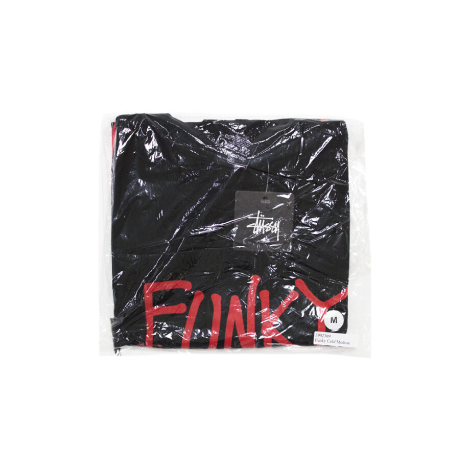 Stussy x Delicious Vinyl Funky Cold Medina Black Tee Limited Edition 3902369