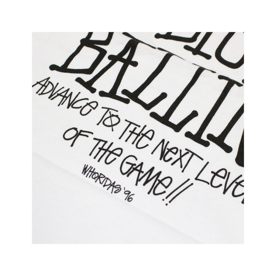 Stussy x Delicious Vinyl Shot Callin' Big Ballin' White Tee Limited Edition 3902370