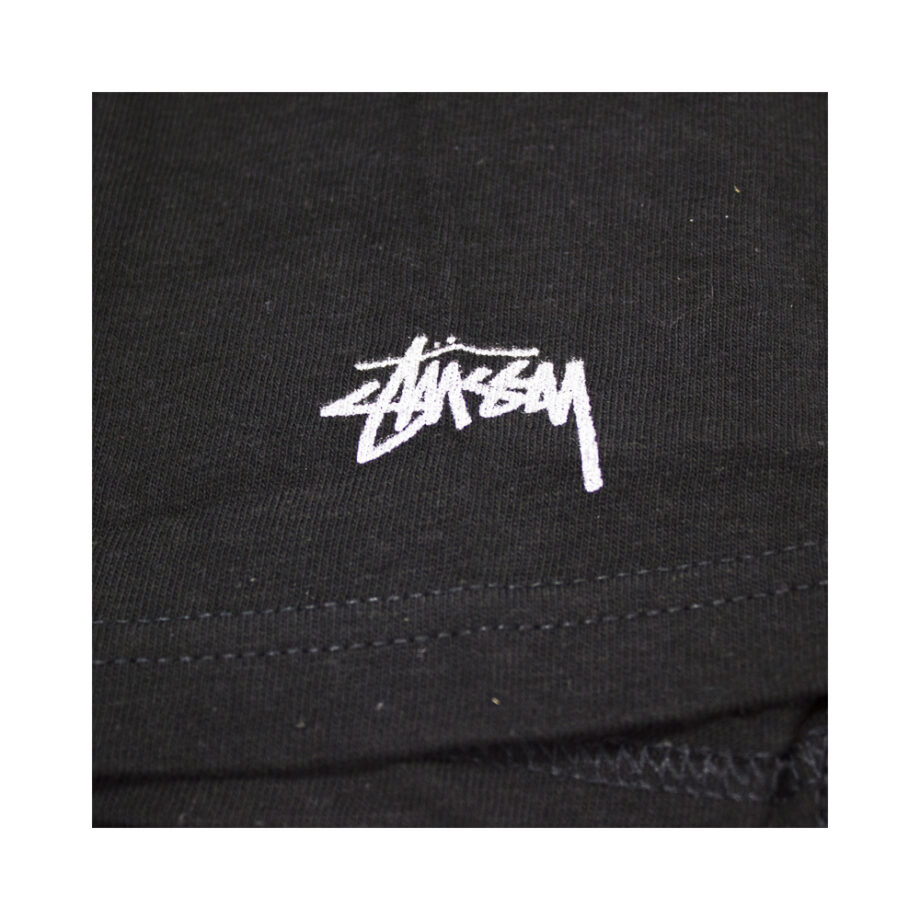 Stussy x Delicious Vinyl Sittin' On Chrome Black Tee Limited Edition 3902373