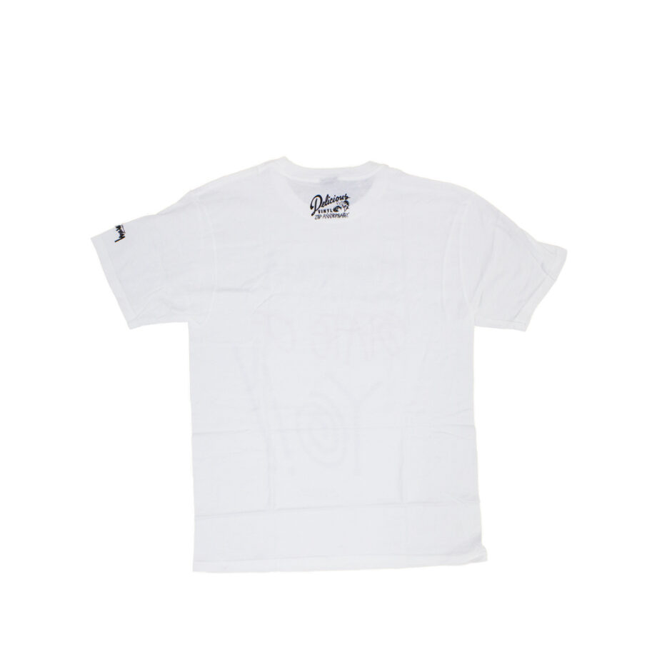 Stussy x Delicious Vinyl State Of Yo!! White Tee Limited Edition 3902371