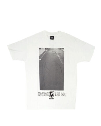 Stussy x Mash White Sc Skids Tee Limited Edition SBSC1901507